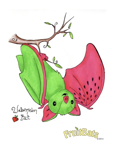 Watermelon Bat