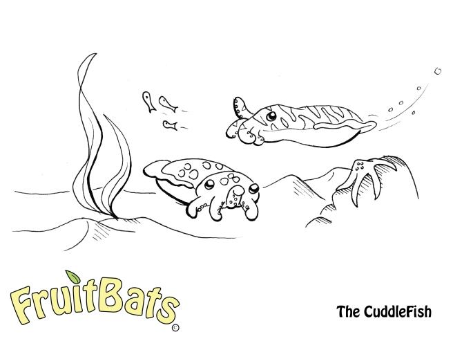 cuddlefishcoloringpage